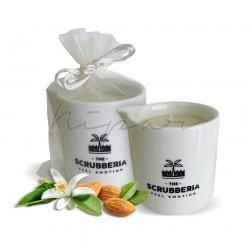 Candela da massaggio mandorle & fiori d'arancio 150 ml