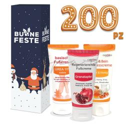 200 pz - Creme Caremed 50 ml con scatola di Natale