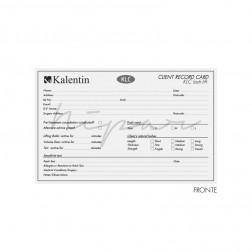 Client Record Card 10 Pz