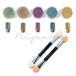 Kit Polvere Chrome - 5 Color Set