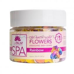 Dry Bath Soap Flowers Rainbow 340 gr