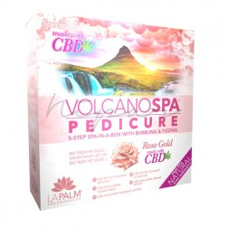 Kit Volcano Spa Gold Rose