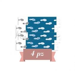 Offerta 4pz - Hygiene Carpet Tappeti decontaminanti multistrato confezione da 30 fogli