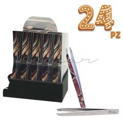 24 Pz - Pinzette Nipar Limited Edition